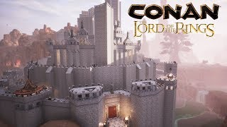 Conan Exiles - Minas Tirith from the Lord of the Rings (Speed Build)