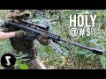 This Guy Brings High Powered M82A1 BARRETT to Airsoft Field (Painful)