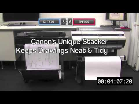 How to replace the printhead of a Canon iPF CAD printer - YouTube