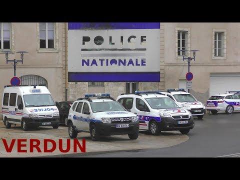 Police Nationale & Municipale Verdun, France - CITROËN - DACIA - PEUGEOT - RENAULT