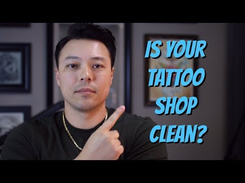 How to Tell if a Tattoo Shop is Clean