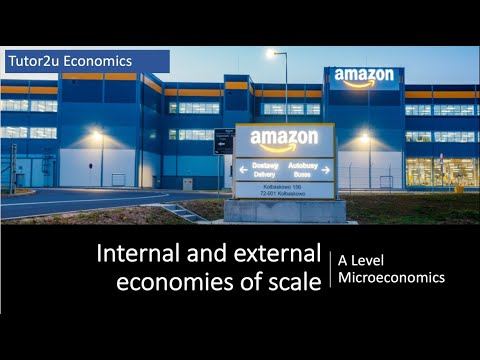 Explaining Internal and External Economies of Scale