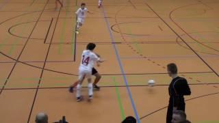 U12 Jhg2005 SV Darmstadt 98 - 1. FC Köln 3:1; Hallencup Rheinsüd Köln 14.01.2017