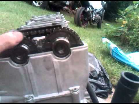 2006 gsxr 600 how to set timing chain cams (only) - YouTube