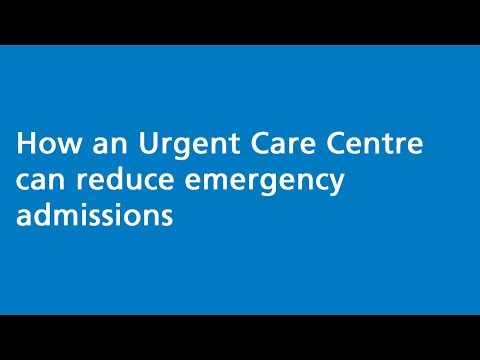 How An Urgent Care Centre Can Reduce Emergency Admissions