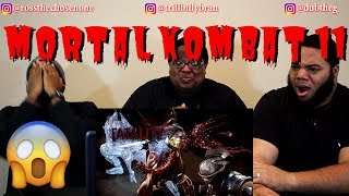 MORTAL KOMBAT 11 Gameplay Trailer + All Fatalities and Fatal Blows in 4K (REACTION!!)