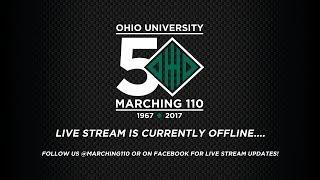 Marching 110 - OHIO vs UMass Halftime Show