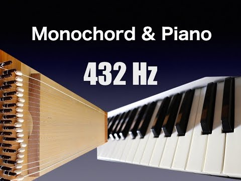 432 Hz Monochord and Piano - Cleansing the Soul