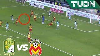 ¡JJ Macías estremece el travesaño! | León 1 - 2 Morelia | Liga Mx - AP 19 - Cuartos de final | TUDN
