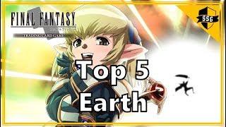 Final Fantasy TCG Top 5 Earth Cards!