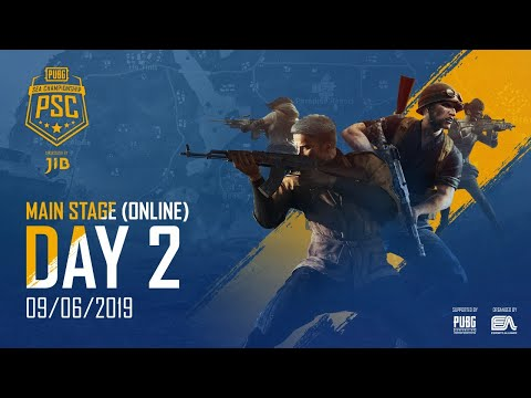 🔴PUBG SEA CHAMPIONSHIP 2019 - MAIN STAGE - DAY 2