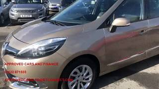APPROVED CARS AND FINANCE - 2015 RENAULT SCENIC WITH ONLY 33000 MILES AND FSH