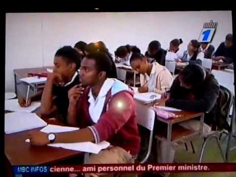 St Helena's College - MBC News 24 August 2012