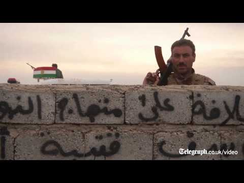 Peshmerga fighters open up vital corridor to Yazidis