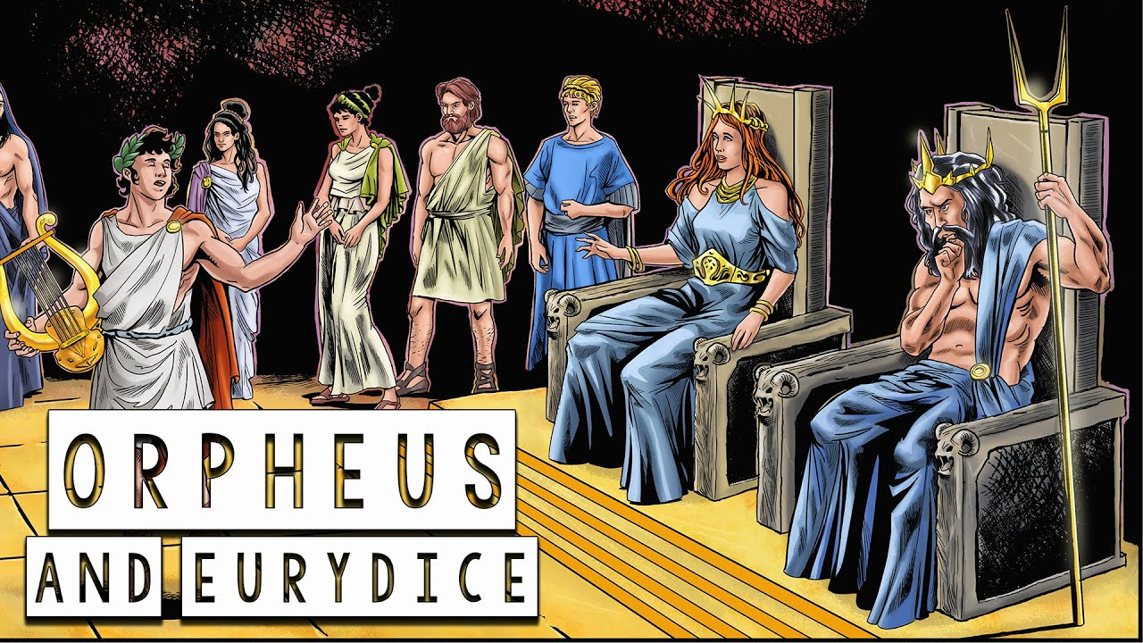 Download The Story of Orpheus and Eurydice: A love beyond life - Greek Mythology in Comics - See U in History