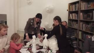 Мастер класс Амировой Гюзель по изготовлению куклы ангела из бутылки