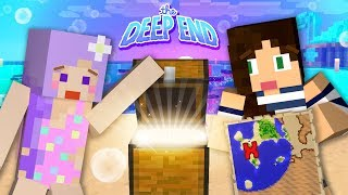 FINDING RARE TREASURE in Minecraft Deep End w/ Stacyplays
