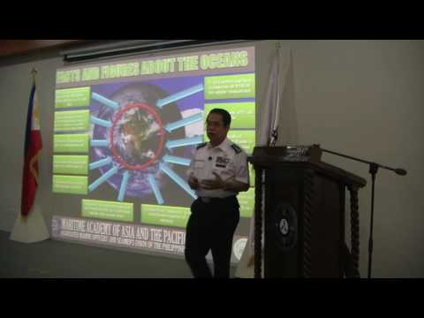 The Ocean as a Medium of Peace and Understanding -  Prof. VAdm. Eduardo Santos, AUSN; MAAP