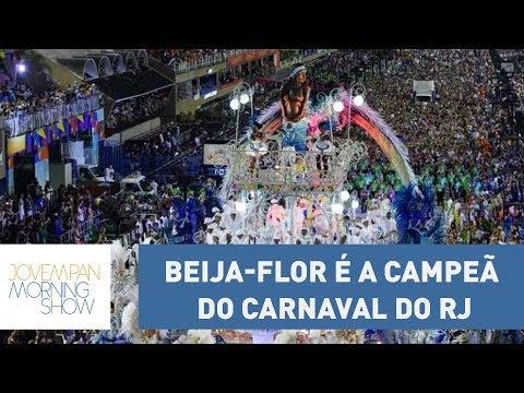 Com Desfile Em Tom De Crítica Social, Beija-Flor é A Grande Campeã Do Carnaval Do Rio De Janeiro