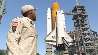 GTA 5 Space Mission with Franklin! (Grand Theft Space)