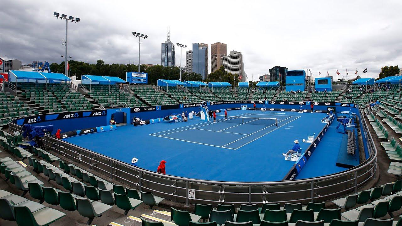 australian open day 1 court 3
