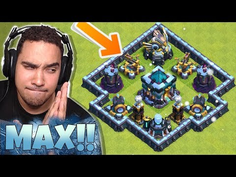 FULLY MAXED TH13 REVEALED!! (REACTION VIDEO) Clash Of Clans Update!