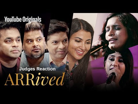 Judges Reaction | Supriya Lohit & Pavithra Balajee | #ARRivedSeries