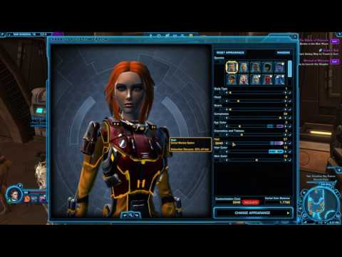 SWTOR new hairstyles appearance options: Human hairstyles 2