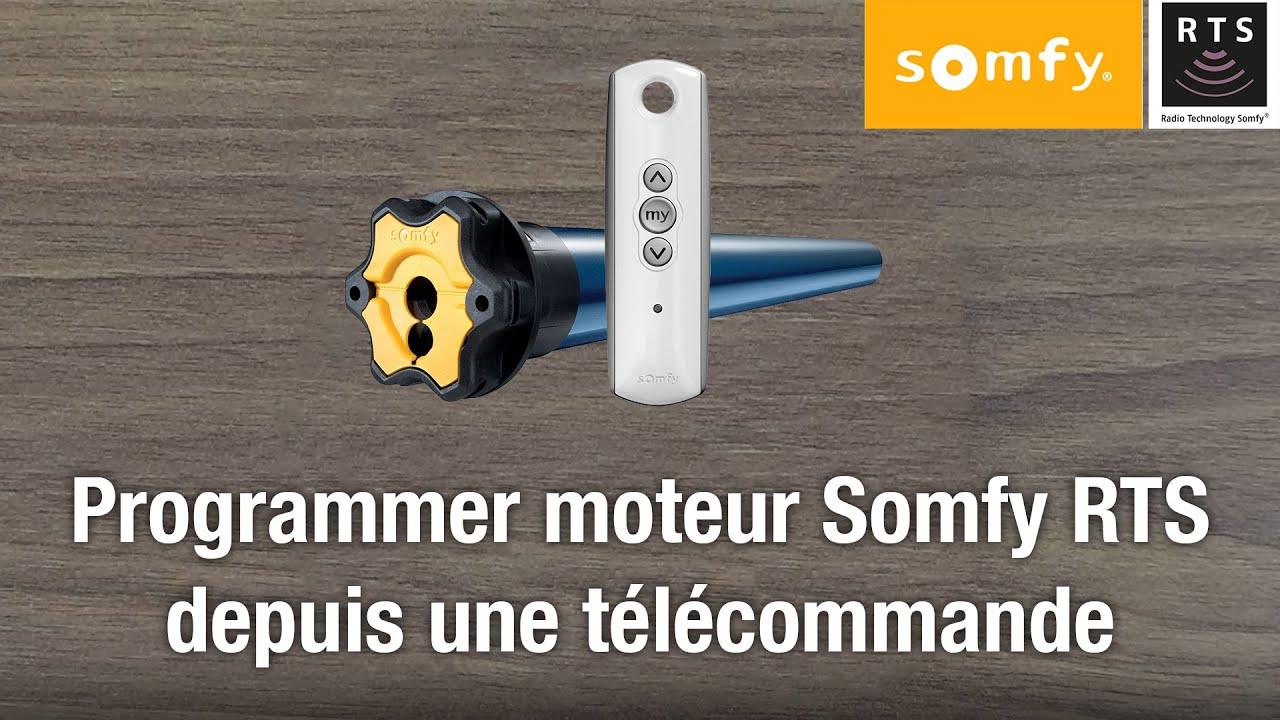 Programmer Telecommande Somfy Rts Et Son Moteur Reinitialisation