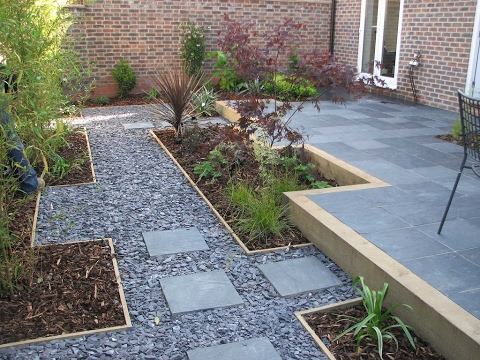 Small Gravel Garden Design Ideas - YouTube on Backyard With Gravel Ideas id=64739