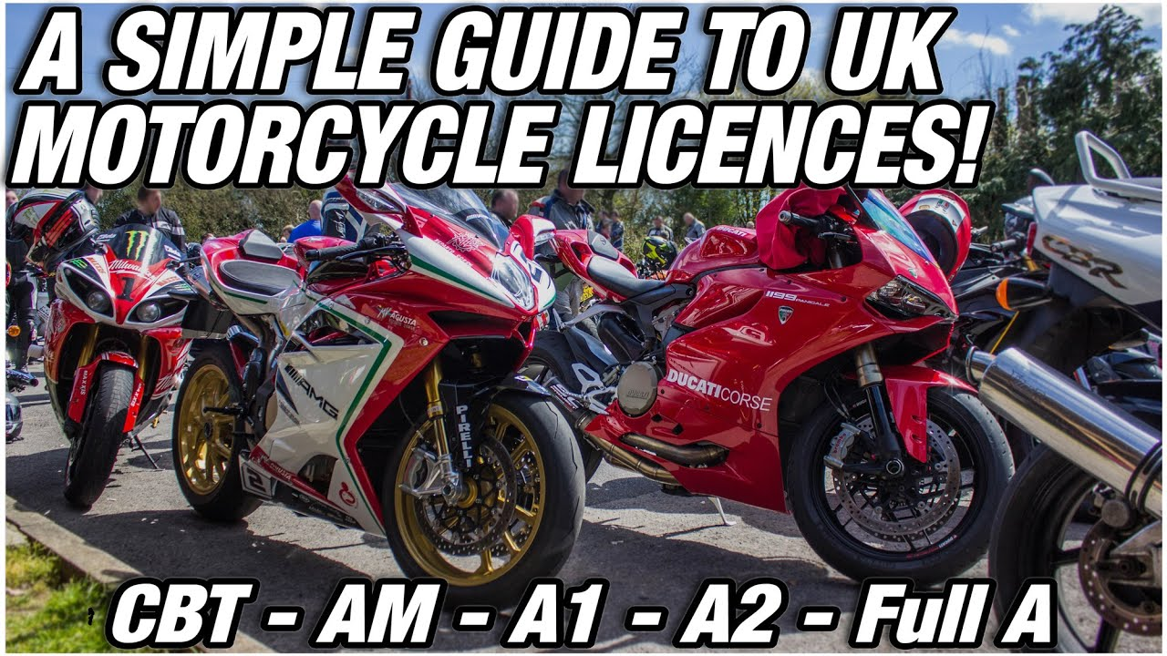 Download UK Motorcycle Licences 2020 - What can you ride at your age!