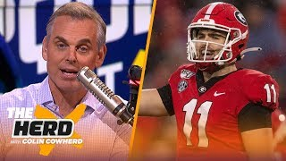 Colin Cowherd picks Week 10 college football in the Marquee 3 | CFB | THE HERD