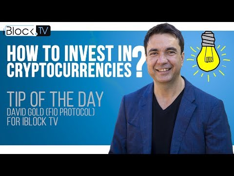TIP FOR CRYPTO INVESTORS | DAVID GOLD FOR IBLOCK TV