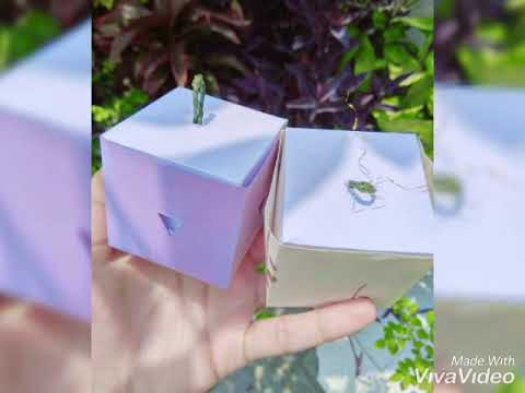 DIY Gift box| How to make easy gift box Easy paper craft ideas
