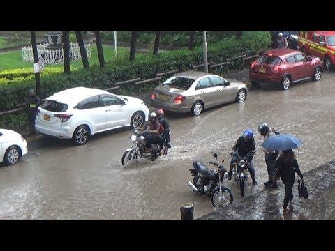 L'orage de ce lundi sur Port-Louis pourrait se répéter d'ici jeudi