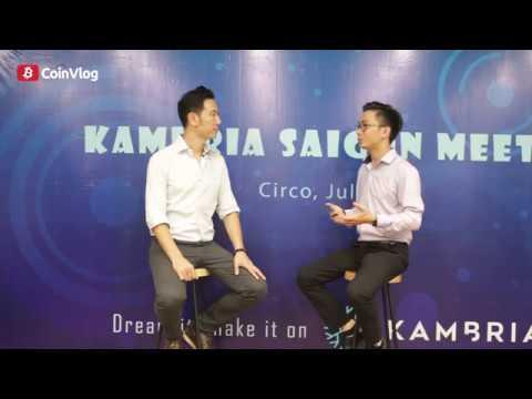Phỏng vấn tiến sĩ Vũ Duy Thức – CEO dự án Kambria (KAT), một dự án về Robotics và AI – CoinCafe