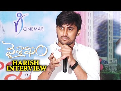Vaisakham Movie Hero Harish Varma Interview
