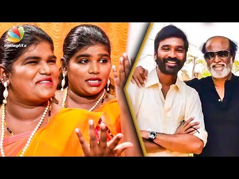 How Rajini Surprised Dhanush on his Birthday ? : Aranthangi Nisha Comedy Interview   Maari 2 Making