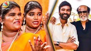 How Rajini Surprised Dhanush on his Birthday ? : Aranthangi Nisha Comedy Interview | Maari 2 Making