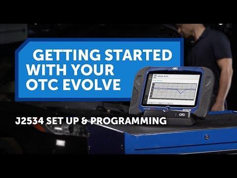 OTC EVOLVE Getting Started - J2534 Set Up & Programming