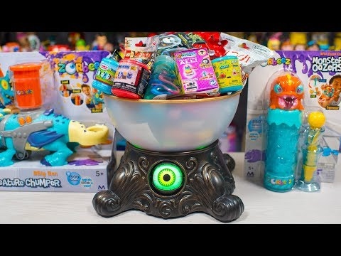 HUGE Boogie Man Surprise Toy Halloween Blind Bags Surprise Eggs Zorbeez Boy Toys Kinder Playtime