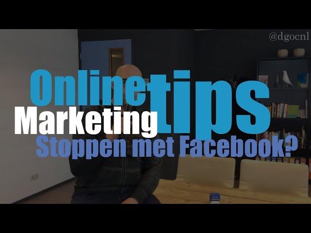 Stoppen met Facebook?