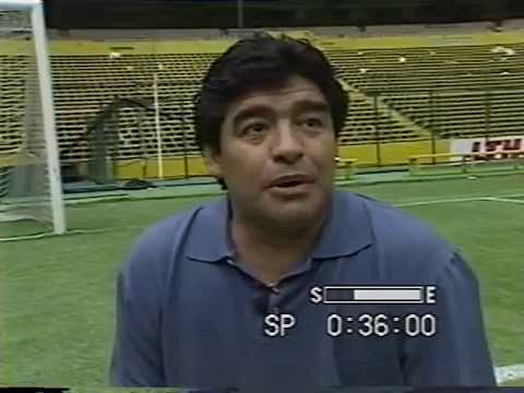 Diego Armando Maradona, aquella hazaña en el Azteca y un retorno angustioso...