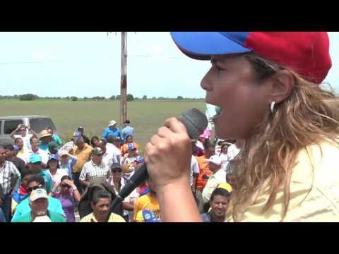 Tractorazo 2017 Turén Portuguesa Venezuela María Beatriz Martínez Diputada a la ASAMBLEA NACIONAL