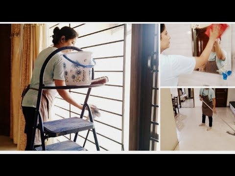 How To Clean  A Big House Without  A Maid||Indian Daily House Cleaning Routine