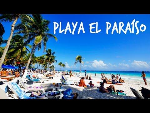 BEST BEACH IN MEXICO 🇲🇽❓ | PLAYA EL PARAÍSO 🌊  [4K]