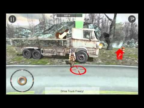 Crazy Pet Horse Truck Drive