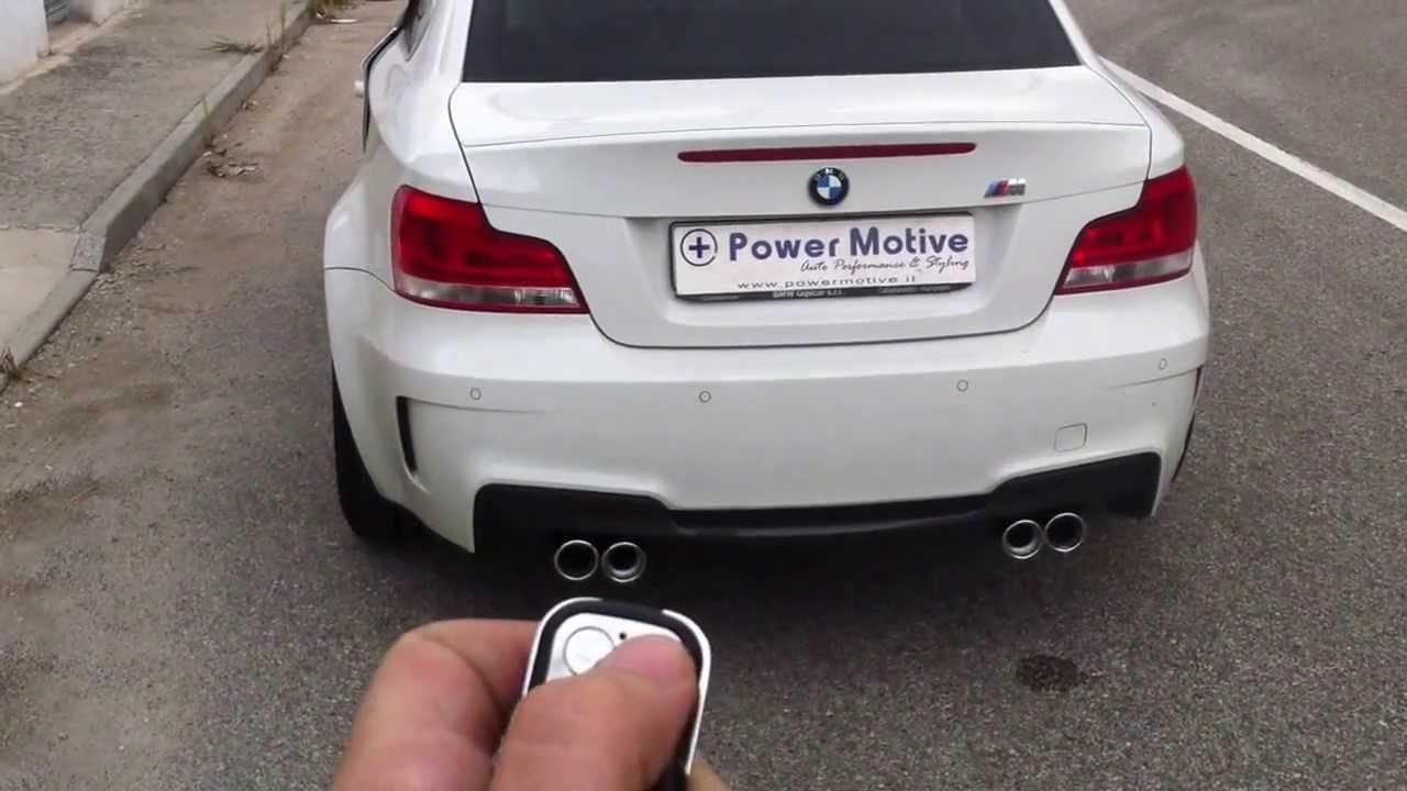 Bmw Serie 1 M Scarico Con Valvola Exhaust Valve