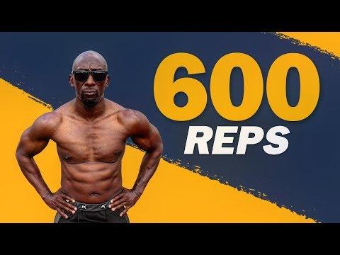 Bodyweight 600 HIIT Workout (No Equipment Needed)