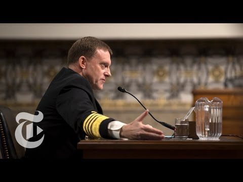 NSA Director Mike Rogers Testifies On Cyber Threats | The New York Times